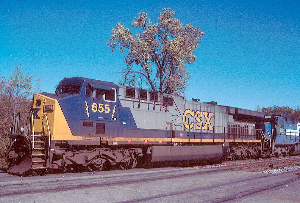 CSX CW60AC 655