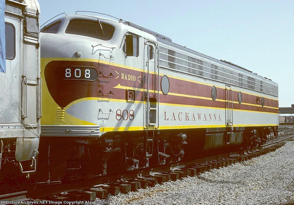 DL&W E8A 808