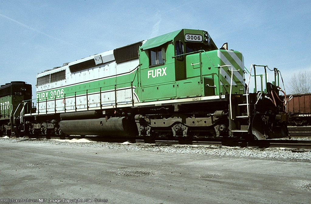 FURX SD40M-2 3006