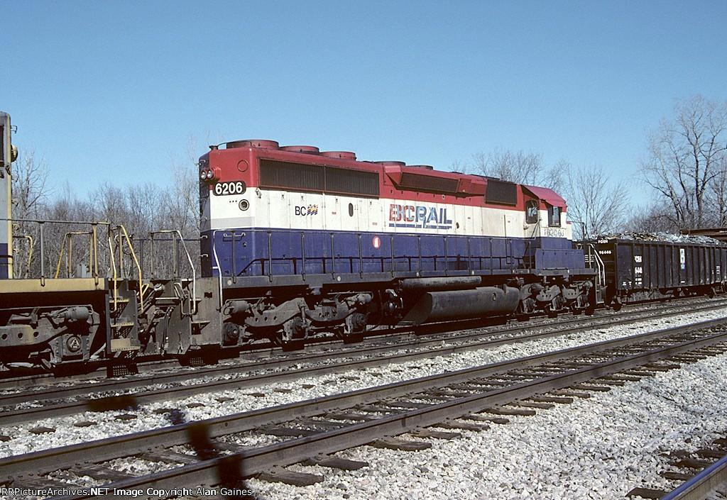 HLCX SD40-2 6206