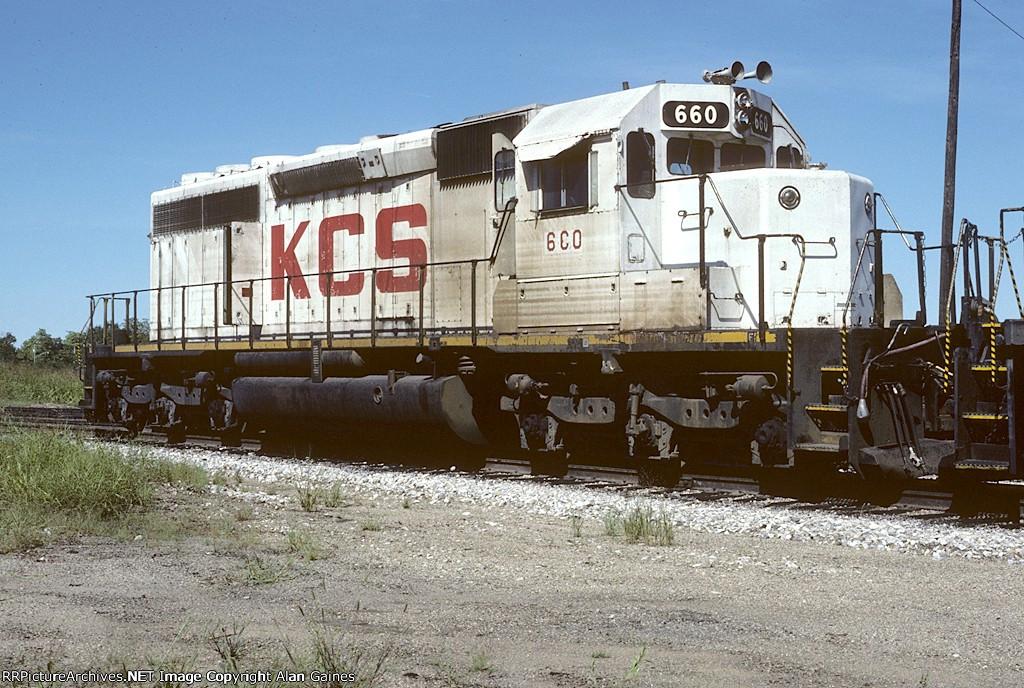 KCS SD40-2 660
