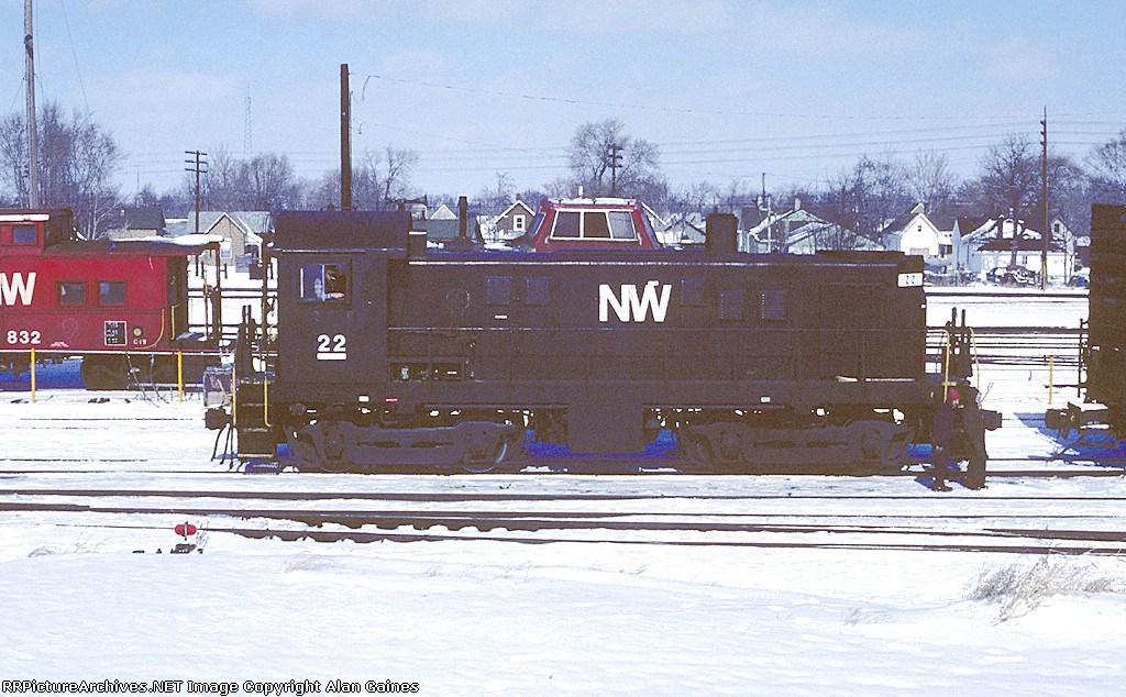 N&W T-6 22