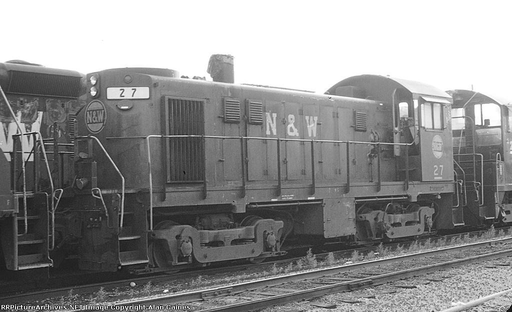N&W T-6 27