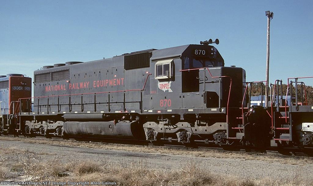 NRE SD40 870