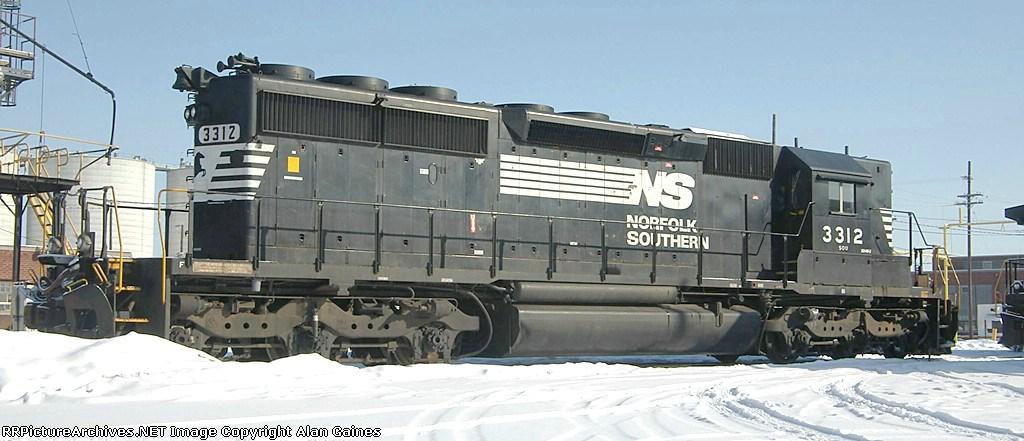 NS SD-40-2 3312