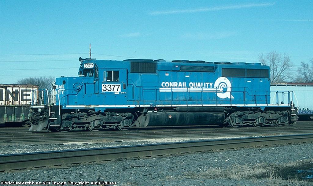 NS SD40-2 3377