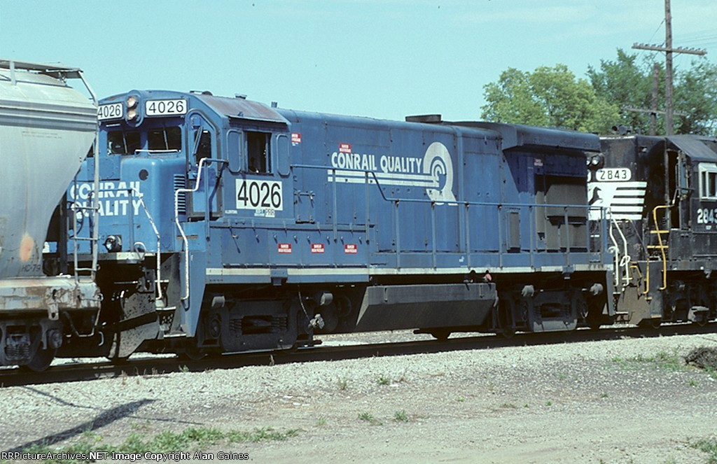 NS B23-7 4026