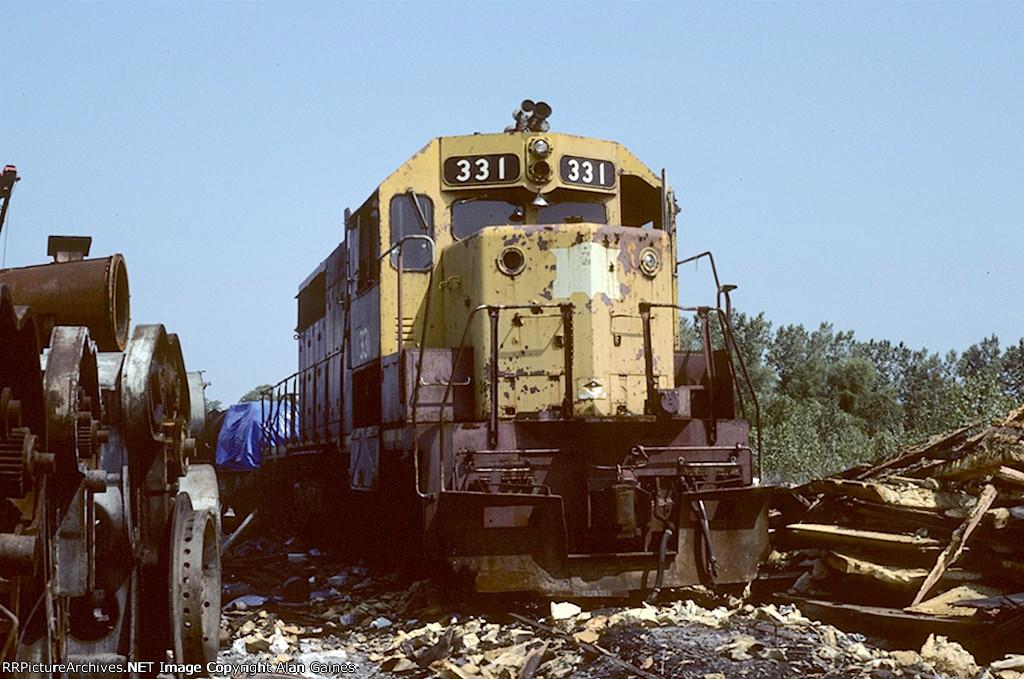 CRI&P GP35 331