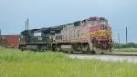 BNSF B40-8W 554