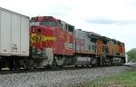 BNSF B40-8W 573