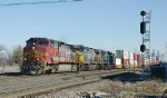 BNSF C44-9W 731