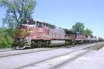 BNSF C40-8W 840