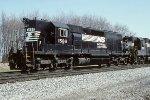 NS SD40 1586
