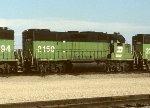 BN GP38-2 2150