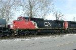 CN C40-8W 2160