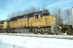 UP SD40-2 3629