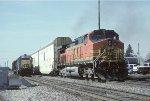 BNSF C44-9W 4317