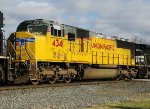 UP SD70M 4341