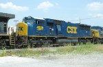 CSX SD70MAC 4529