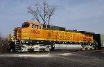 BNSF C44-9W 4566