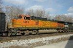 BNSF C44-9W 5063