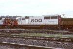 Soo Line SD60 6000