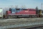 HLCX SD40M-3 6057
