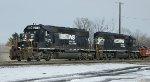 NS SD40-2 6159