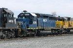 HLCX SD40-2 6236
