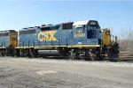 CSX GP40-2 6390