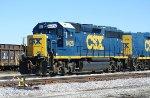 CSX GP40-2 6425