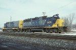 CSX GP40-2 6475