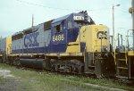 CSX GP40-2 6486