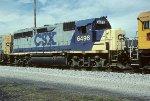 CSX GP40-2 6496