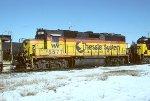 CSX GP40 6571