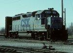 CSX GP40 6589