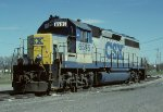CSX GP40 6595