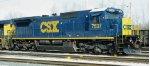 CSX C40-8 7537