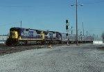 CSX C40-8 7603