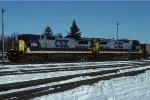 CSX C40-8 7604