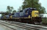 CSX C40-8 7609