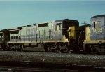CSX C40-8 7613