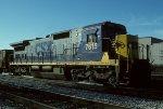 CSX C40-8 7615