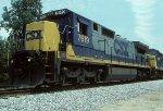 CSX C40-8 7619