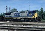 CSX C40-8 7620
