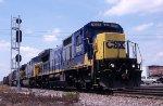 CSX C40-8 7627