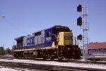 CSX C40-8 7628