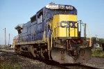 CSX C40-8 7644