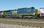 CSX C40-8W 7679