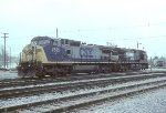 CSX C40-8W 7685